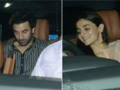<I>Sanju</I>: Ranbir Kapoor And Alia Bhatt Spotted Together Again. This Time At Screening