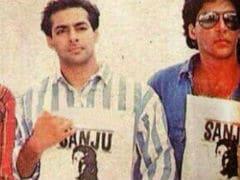 Ranbir Kapoor's <I>Sanju</i> Releases, Rishi Kapoor Digs Out Pic Of Salman Khan, Akshay Kumar, Ajay Devgn, Saif Ali Khan 'Promoting' Sanju Even Before It Was Made