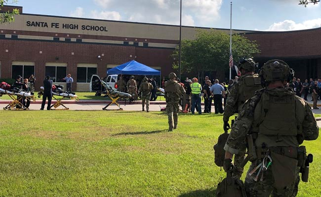 At Least 8 Killed In Shooting At High School In Texas, Gunman Arrested