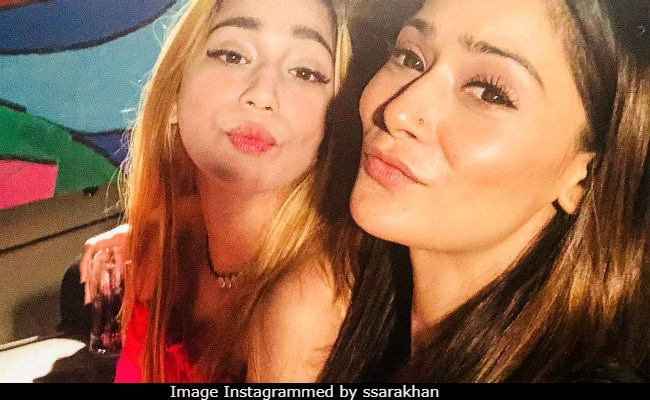 Sara Khan Explains Away Bathtub Video Posted, Then Deleted By 'Drunk' Sister