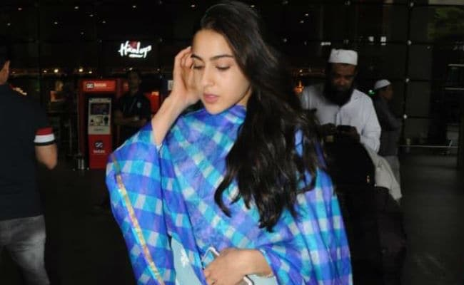 Simmba: Sara Ali Khan Returns To Mumbai, Just In Time For Eid