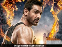 <I>Satyamev Jayate</I> First Poster: John Abraham Looks Fierce, Says This Independence Day, 'Justice Will Roar'