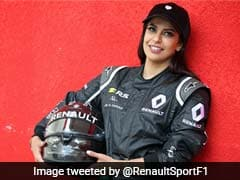 Saudi Arabian Woman Drives Formula One Car To Mark End Of Ban