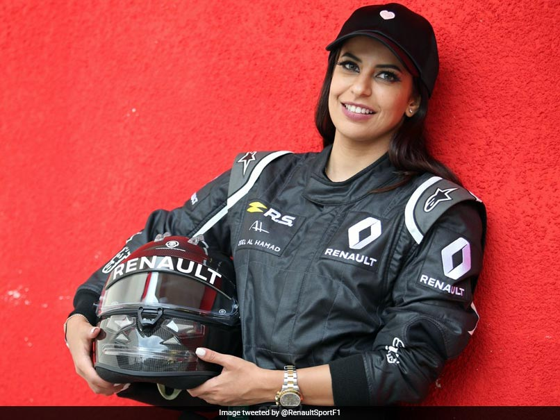 Saudi Arabian Woman Marks End Of Driving Ban By Getting Behind The Wheel Of Formula One Car