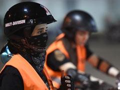 Saudi Women Rev Up Motorbikes As End To Driving Ban Nears