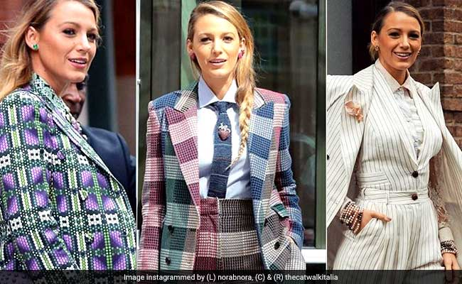Proof That Blake Lively Can't Get Enough Of Prints