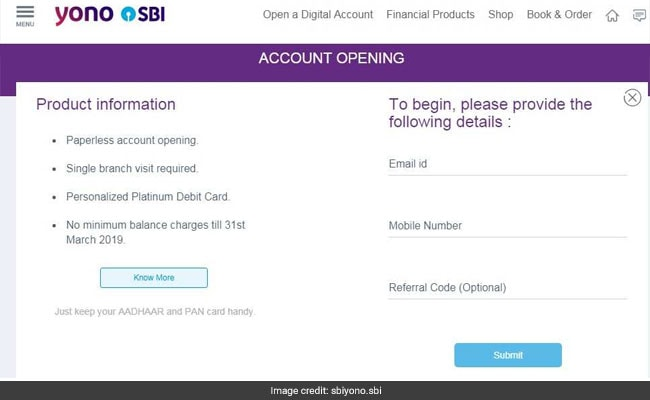 nri account sbi how to open