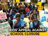 "Video : ""Save Our School"", Students Requested HD Kumaraswamy. He Obliged"