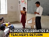 "Video : ""We Love Bhagwan Sir"": Tale Of A School Which Fought A Teacher's Transfer"