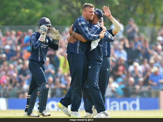 Scotland Stun Top-Ranked England By Six Runs In ODI Upset
