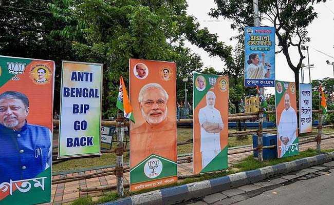 Ahead of Amit Shah Rally, 'BJP Go Back' Posters On Kolkata Streets