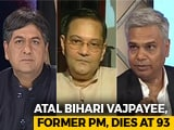 Video : Nation Mourns Former PM Atal Bihari Vajpayee's Loss