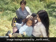 North West Makes Her Modelling Debut For Fendi Alongside Kim Kardashian And Kris Jenner