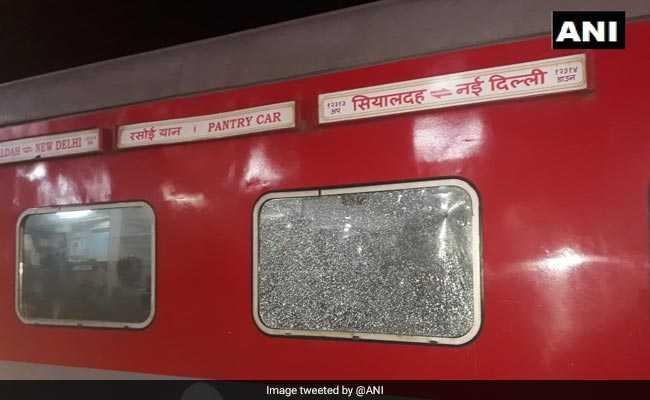Stones Thrown At Sealdah-New Delhi Rajdhani Express In Bihar, 6 Injured