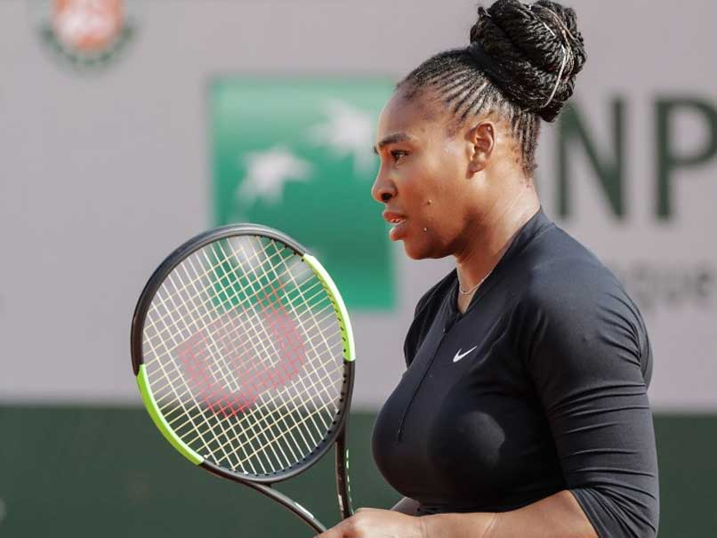 Serena wins opener at Roland Garros in catsuit