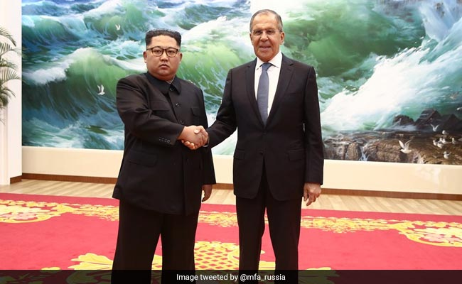 Sergei Lavrov meets Kim Jong-Un, Invites Him To Russia