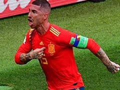World Cup 2018: Spain Captain Sergio Ramos Trolled For Celebrating Russia