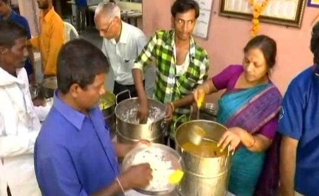 In Hyderabad, Eat Two Meals A Day At Just Rs 10