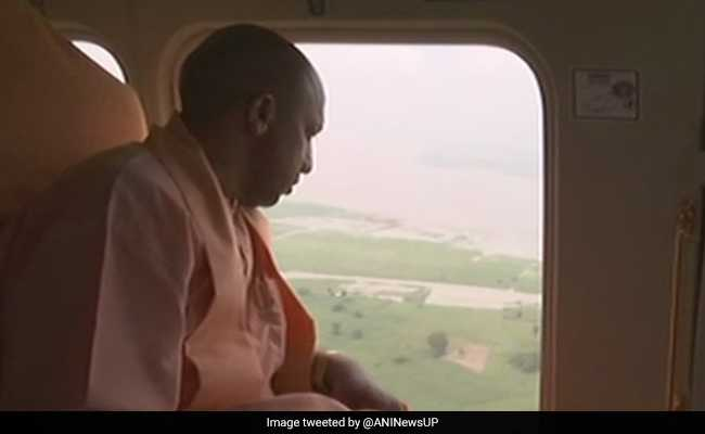 Rain Kills 18 In UP, Yogi Adityanath Undertakes Aerial Survey