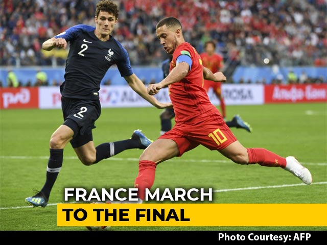 FIFA World Cup 2018: France Deny Belgium To Reach World Cup Final
