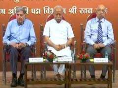 """Dharma Means Social Duty"": RSS Chief As He Shares Stage With Ratan Tata"