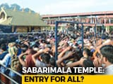 Video: Supreme Court Supports Entry Of Women In Sabarimala Temple