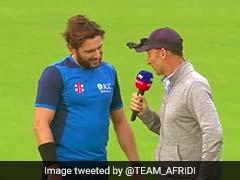 Watch: Shahid Afridi