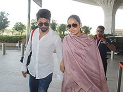 Shahid, Mira Flew Out Of Mumbai. No, It's Not A Babymoon