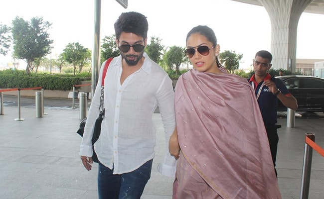 Shahid Kapoor, Mira Rajput Flew Out Of Mumbai Minus Misha. No, It's Not A Babymoon