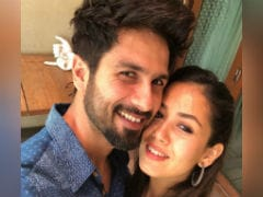 This Pic Of Shahid Kapoor And Mira Rajput Is Love, Actually. See Inside