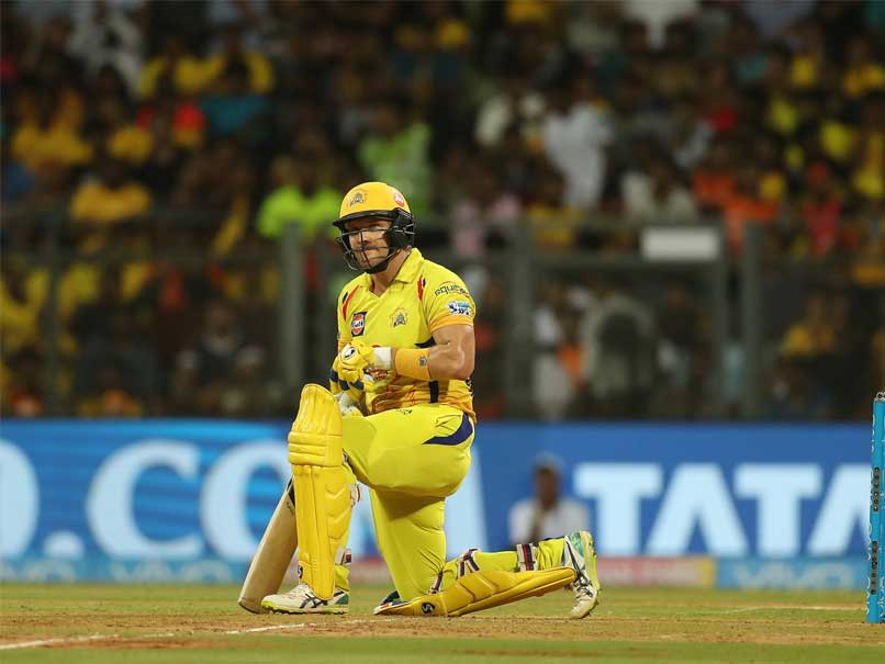 IPL 2018 Final: MS Dhoni Gives Shane Watson A New Name After Chennai Super Kings