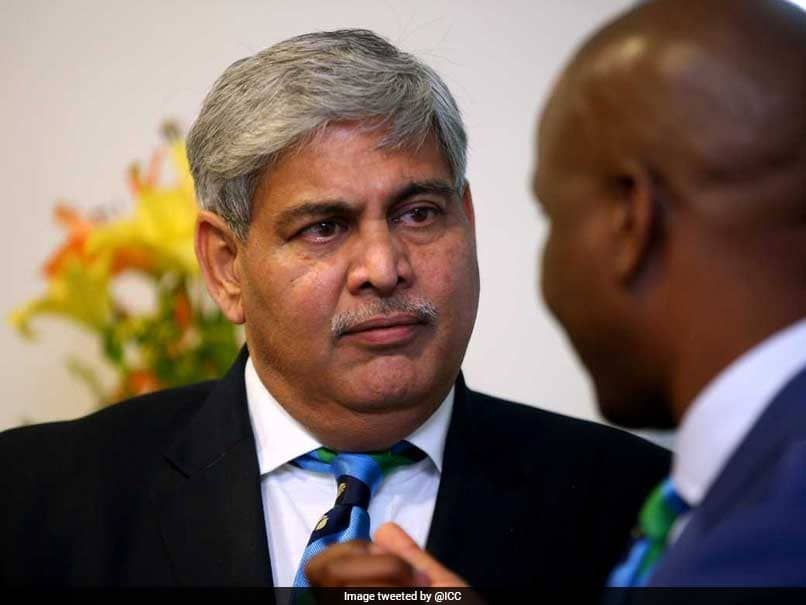 Shashank Manohar Re-Elected ICCs Independent Chairman For A Second Term