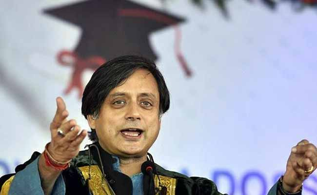For Valentine's Day, Shashi Tharoor's Twitter Takedown Of Moral Police