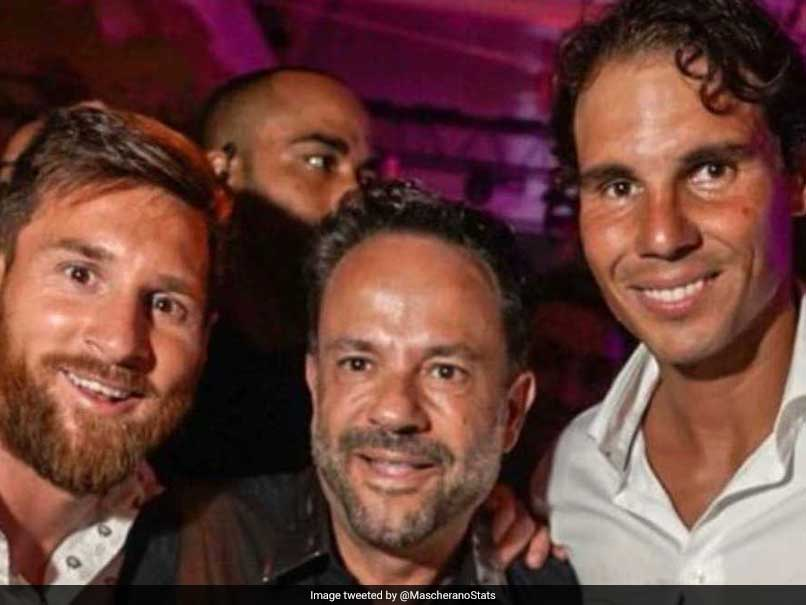 Barcelona Great Lionel Messi Hangs Out With Tennis Superstar Rafael Nadal In Ibiza