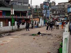 Curfew Lifted In Shillong, Streets Decked Up In Christmas Lights