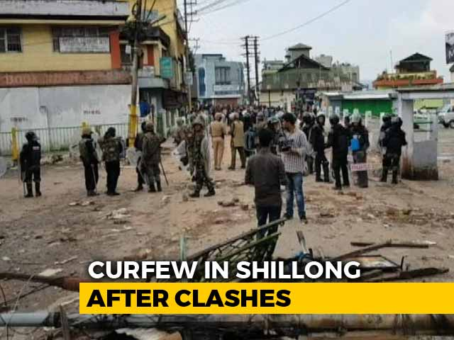 Video : Shillong Violence Spreads Despite Curfew, 500 People In Army Shelter