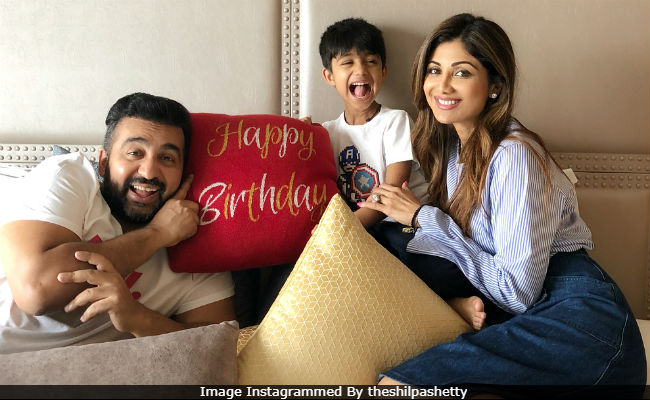 Inside Shilpa Shetty's Family-Only Birthday Celebration. How Cute Is Viaan?