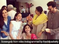 Not A Sunday Binge, But It's An Eid Binge For Shilpa Shetty