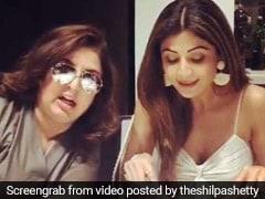 Watch: Farah Khan's Punny Banter During Shilpa Shetty's Sunday Binge!