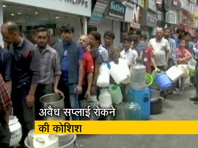 Videos : पानी को तरसता शिमला, एक महिला की मौत