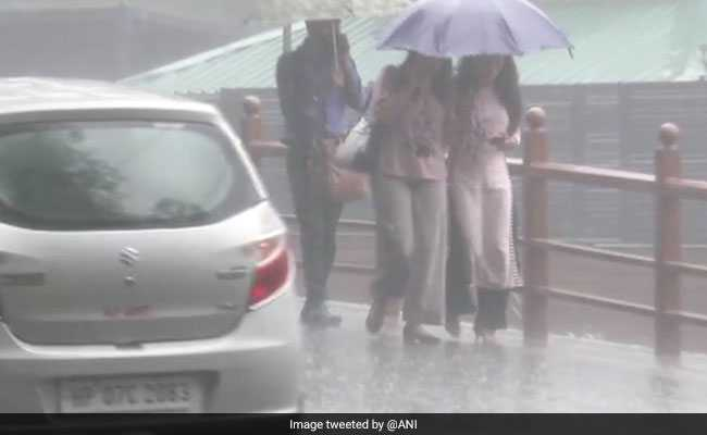 Shimla Received Heaviest Rainfall Since 1951