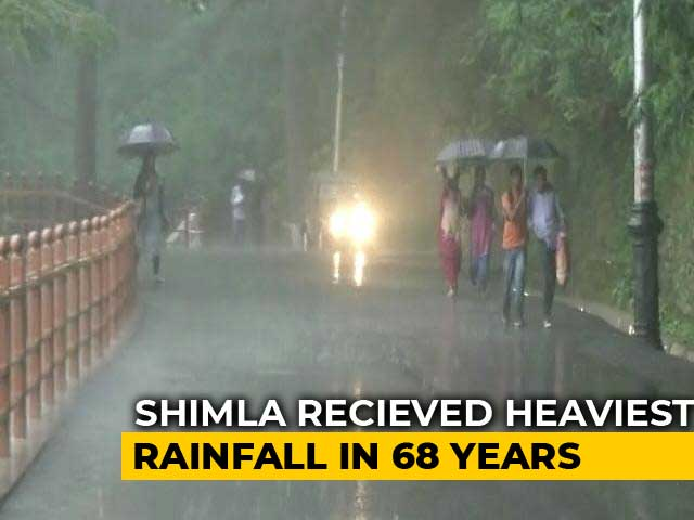 Video : Shimla Received Heaviest Rainfall Since 1951
