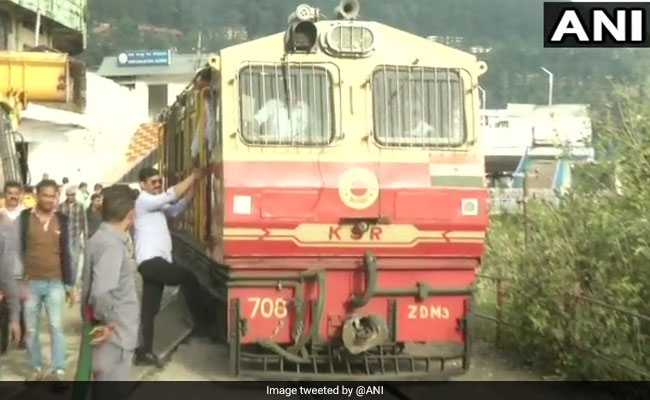 Trial Of Diesel-Run Coach On Shimla's Heritage Track A Success: Officials
