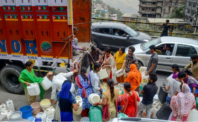Water Supply In Shimla Increases, But Rationing System To Continue