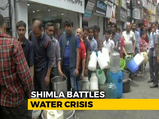 Video : Shimla Battles Water Crisis, Locals Ask Tourists To Stay Away
