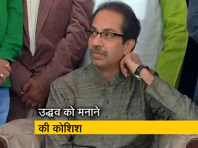 Videos : न्यूज टाइम इंडिया : नाराज उद्धव से अमित शाह की मुलाकात