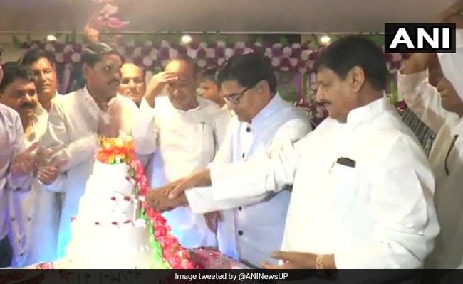 At Cousin's Birthday Bash, Samajwadi Party's Shivpal Yadav Says 'No Rift'