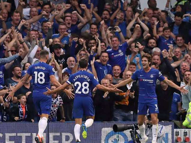 Premier League: Chelsea Hit Back As Marcos Alonso Sinks Arsenal