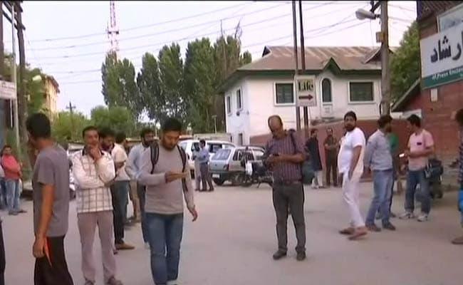 shujaat bukhari shot