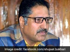 """Shujaat Bukhari Braveheart Who Fought For Peace"": Politicians Tweet"